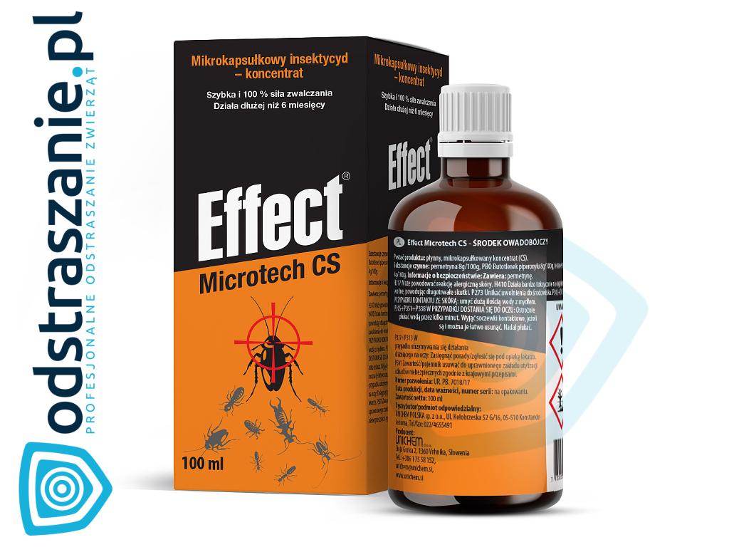 Srodek Na Pluskwy Effect Microtech 100ml Najlepszy Preparat Na Pluskwy Karaluchy Mrowki