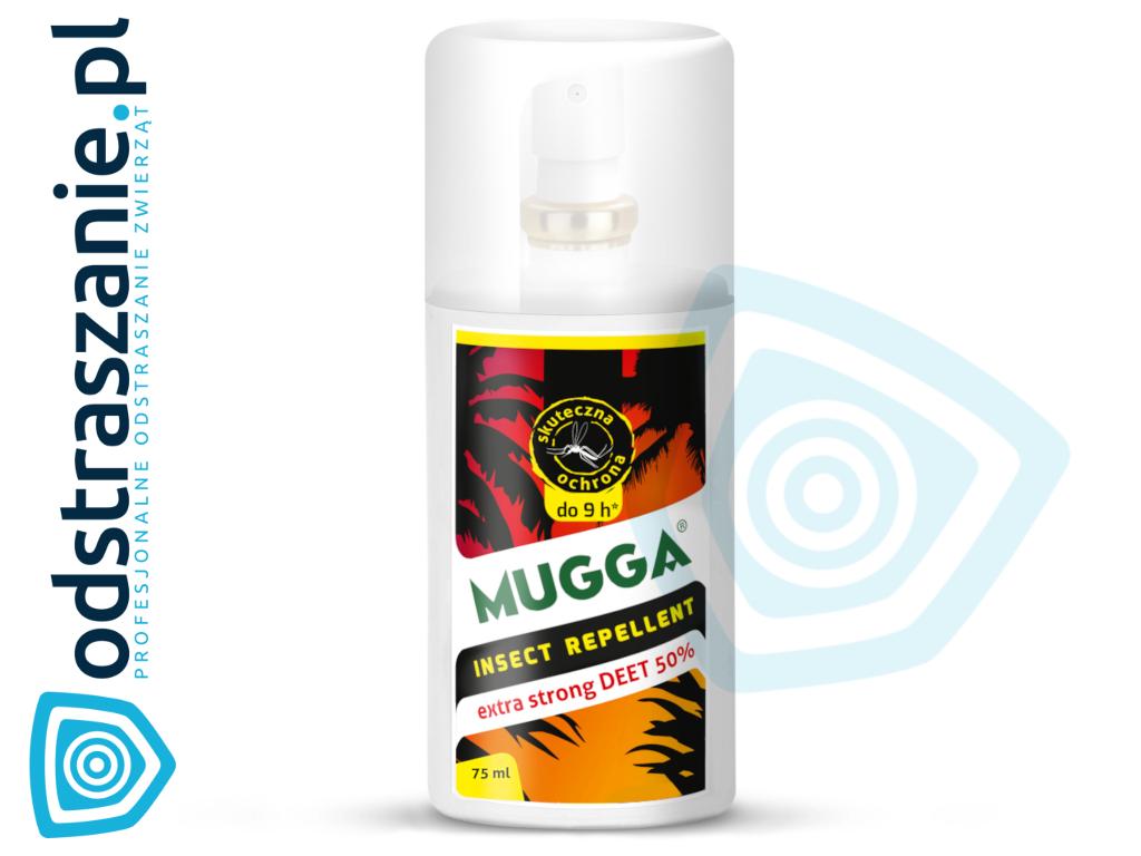 0dfa32cf57d9 Mugga Strong Spray 50% DEET. Środek na komary i kleszcze ...