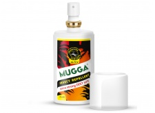 Repelent na komary Mugga Strong Spray 50% DEET.